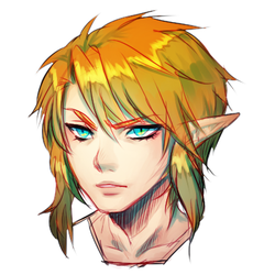 Link's head by onisuu