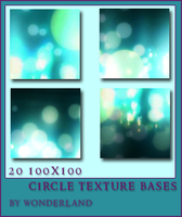 20 Circle Texture Bases by Foxxie-Chan