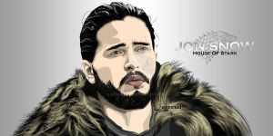 Jon Snow by Jonvexel