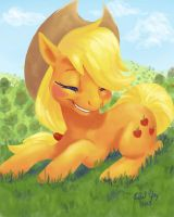 Applejack by Distraction-Number-4