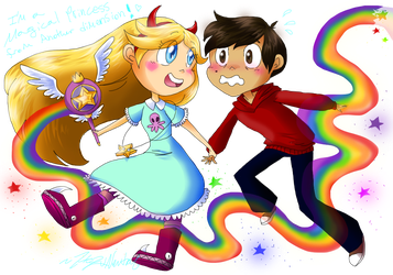Star vs the Forces of Evil by HezuNeutral