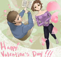 Happy Valentine's Day :D by IdanCarre