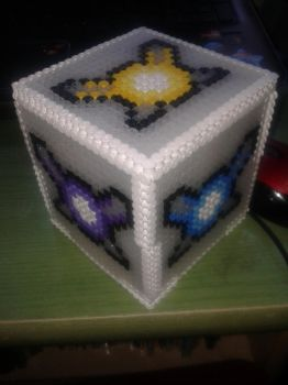 Hama Beads Fairies Box by KirielIsi