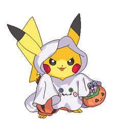 Halloween Pikachu by michy123
