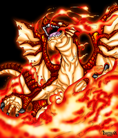 Igneel the Flame Dragon by Ishthak