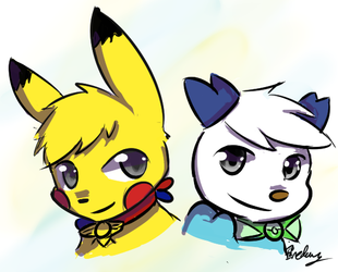 [R] Mark and Jake by Fredory