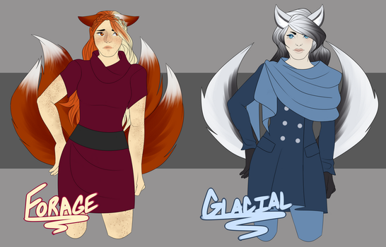 Adoptables: Kitsunes 1 CLOSED by FancySpants