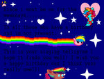 To anyone who has a birthday and im not present by SuperJordanBlast