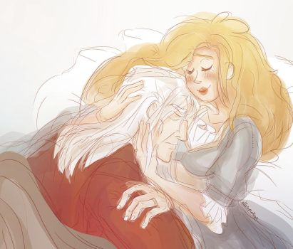 Xanderellie Cuddles by EllieCupcakesArt