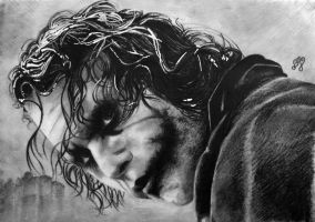 Heath Ledger portrait HQ by th3blackhalo