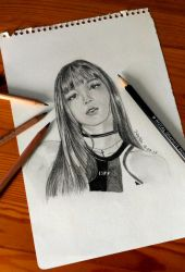 BLACKPINK: Lisa by luffywow