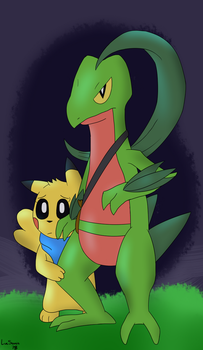 Protector (PMD:EOS) by LucarioSonicAura398