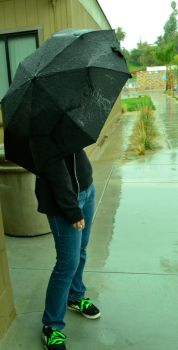Girl in the Rain by CassandraMalfoy