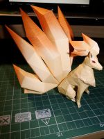 Ninetails Papercraft by bslirabsl