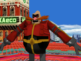 Newcomer: Robotnik from AOSTH by Gale-Kun