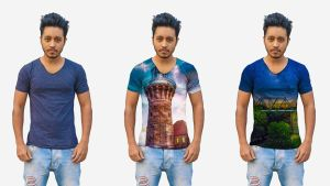 How to Put images on T - Shirts by hasshasib001