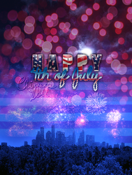 Happy 4th of July. by TheChimeraDoll
