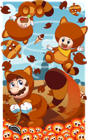 Super Mario Autumn   [CONTEST ENTRY] by MarkProductions
