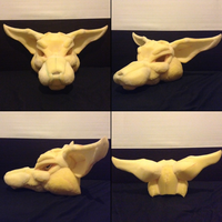 .:Fursuit - Foam head:. by Lukacabra