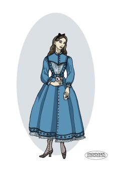 Victorian Alice by LaTaupinette