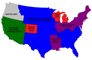 Divided States of America: Robotech Universe by 3D4D