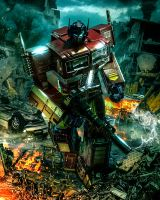 Optimus Prime Mp - 10 by Eastmantoys