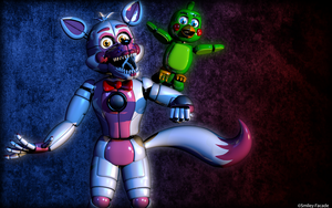 Funtime Foxy Wallpaper by The-Smileyy