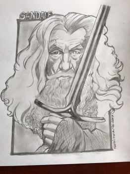 The Lord of the Rings - Gandalf - Ian McKellen by kennf11