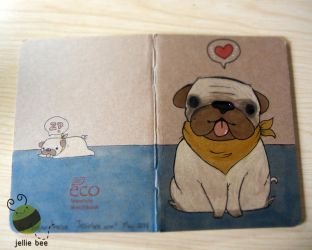 Pug Sketchbook by ditto9