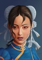 Chun Li Street Fighter by kswistak