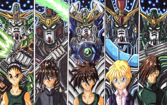 Gundam Wing Endless Waltz: Suit Up one Last Time! by d13mon-studios