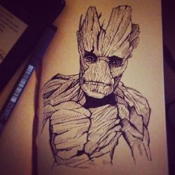 I am Groot. by apfelgriebs