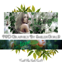 PSD Graphic Pack by SmilerGorl9