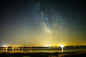 Milky Way and Saint Lawrence by Maxfusion6