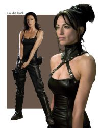 Claudia Black by Morhain-Stef