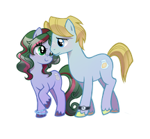 SaltLick and SugarCube by Author-chan