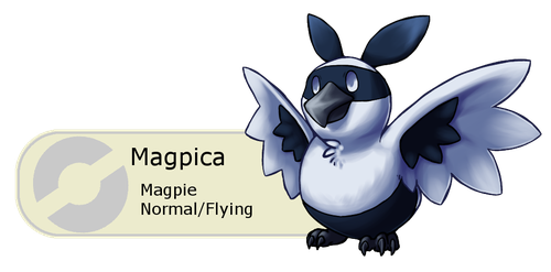 #015 - Magpica by Tinuvion