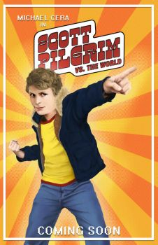 Scott Pilgrim Movie Poster by JRSly