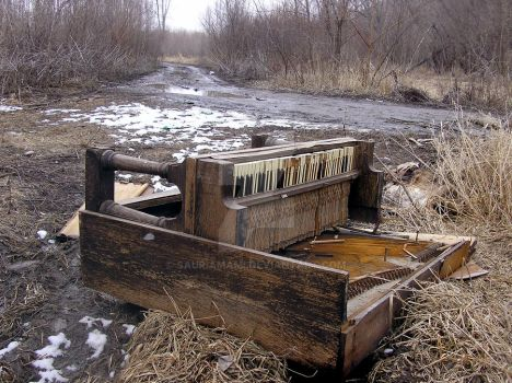 Hillbilly Piano by SauriaMami
