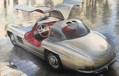 Sophia's Choice - 1955 Mercedes-Benz 300 by donpackwood