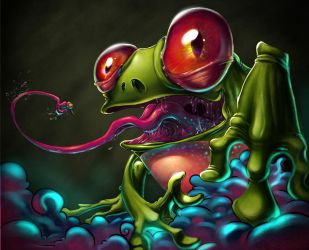 the frog by thezork