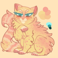 Snazzy Cat adopt! (open Auction?) by chvbbyboba