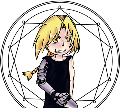 Edward Elric by Metachris