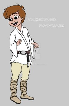 Star Acres:  Christopher Skywalker by chikex