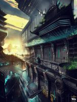 Shadow Warrior 2 : Cyber City by M-Wojtala