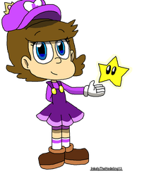 Princess Luisa Toadstool: MarioxPeach Fanchild by InkelyTheHedeling13
