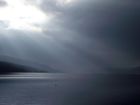 Blue Loch Ness by DanaVarahi