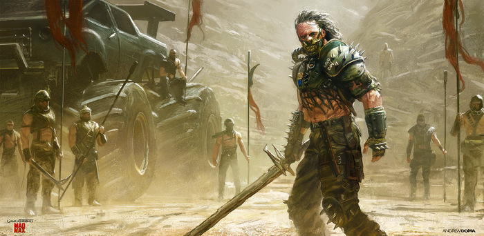 The Hound: Game of Thrones/Mad Max by andrewdoma