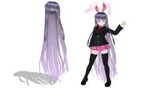MMD Biggest reisen hair Download by 9844
