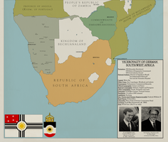 Map of German South-West Africa by KitFisto1997